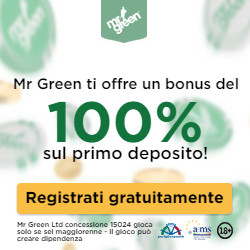 casino mr green bonus